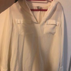 Joie long sleeve silk blouse